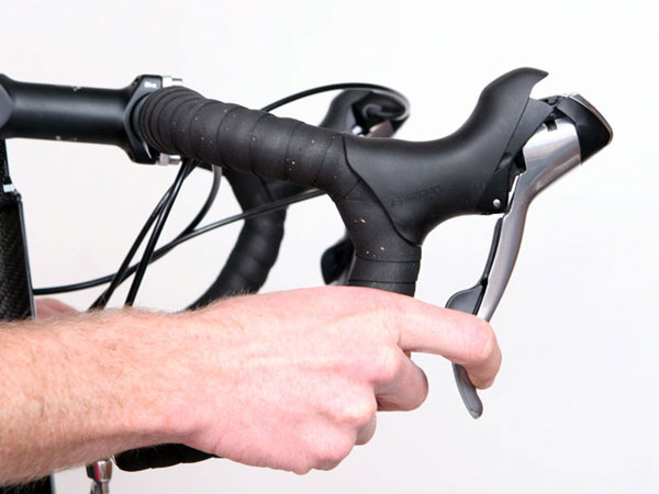 Bicycle Brake Levers : Coached cycling skill sessions improve your bike handling