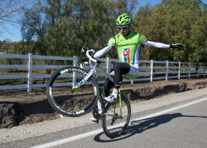 Peter Sagan wheelie